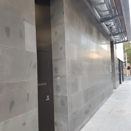 Commercial Stone Cladding - Bluestone