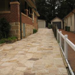 Sandstone crazy paving domestic (2)