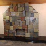 Domestic-fireplace
